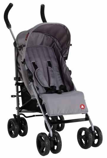 Topmark Бебешка количка MIKA Stroller Grey TM T7006